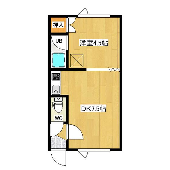 第21日研ハイツ 206号室