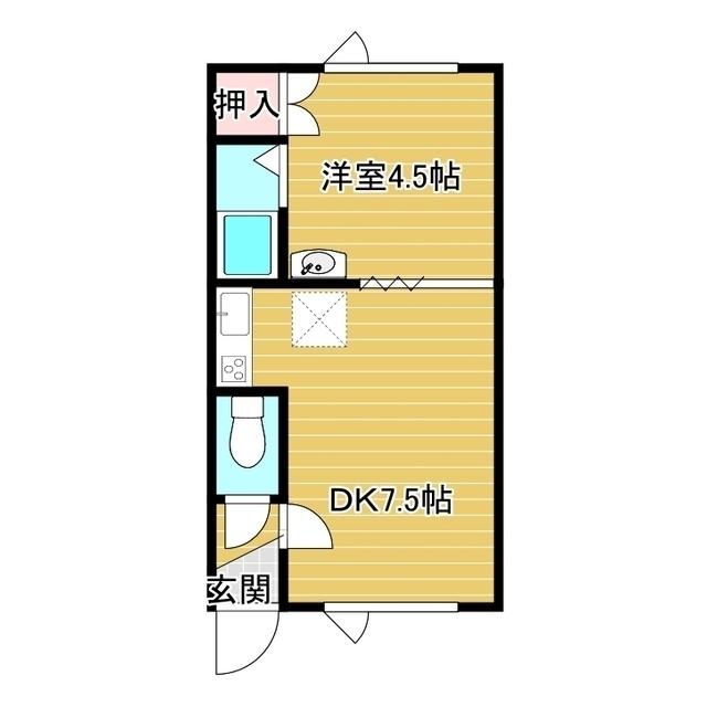 第21日研ハイツ 106号室