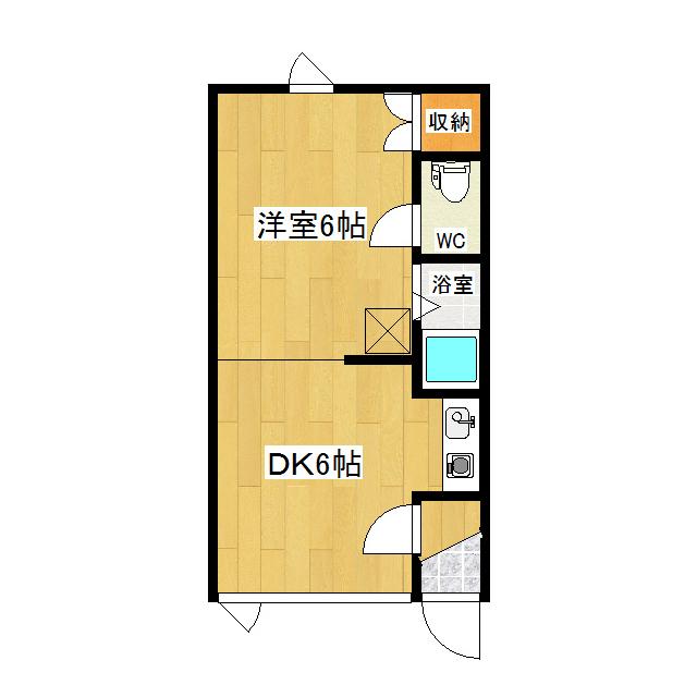 第2日研ハイツ  106号室