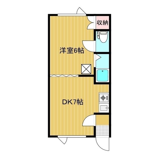 第7日研ハイツ 203号室