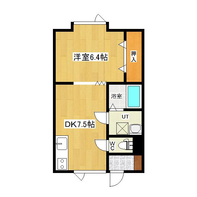 大学ハイツ 105号室