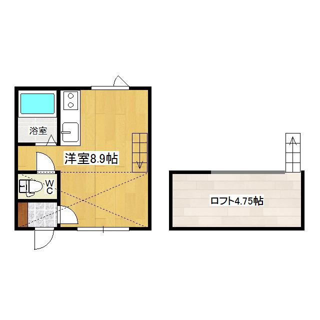 メゾンド市田B 108号室