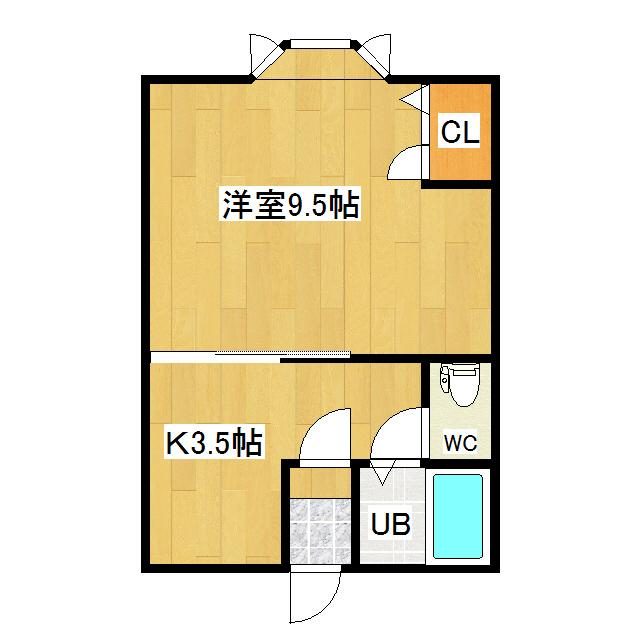 グリーンハイツ坂本 205号室