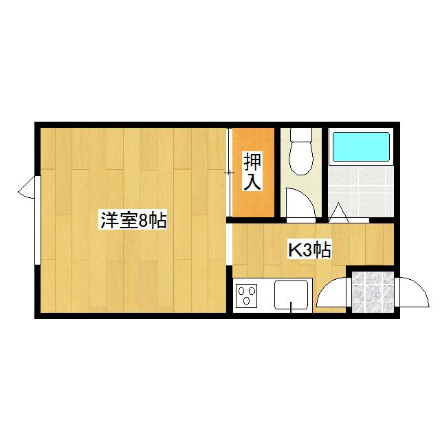 コーポささか 101号室