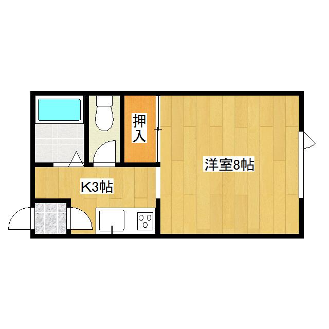 コーポささか 205号室