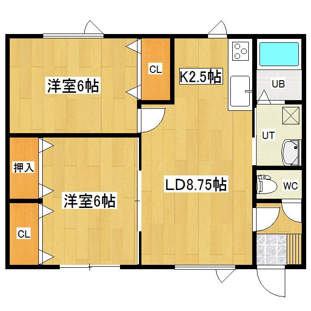 ラポール 101号室