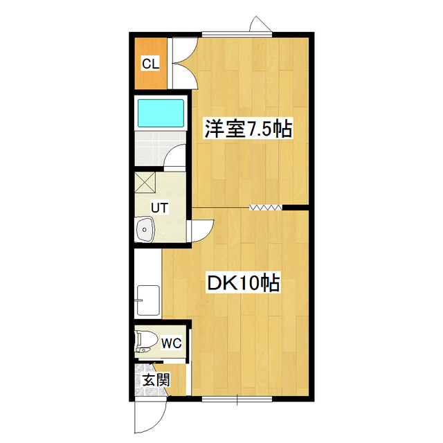 レジデンスさき 101号室