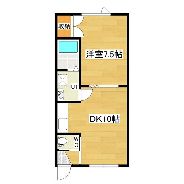 レジデンスさき 105号室