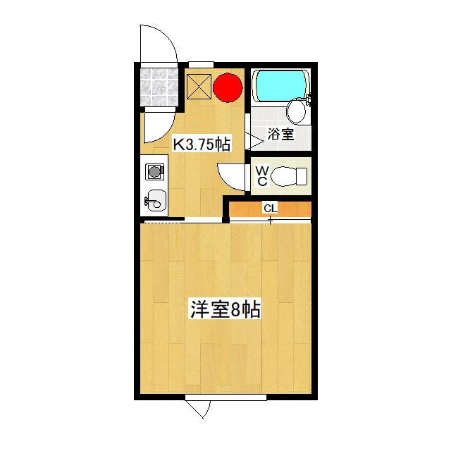 みきハウス 1-C号室