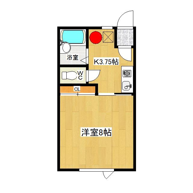 みきハウス 1-D号室