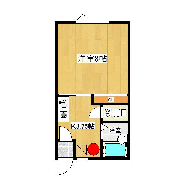 みきハウス 2-B号室