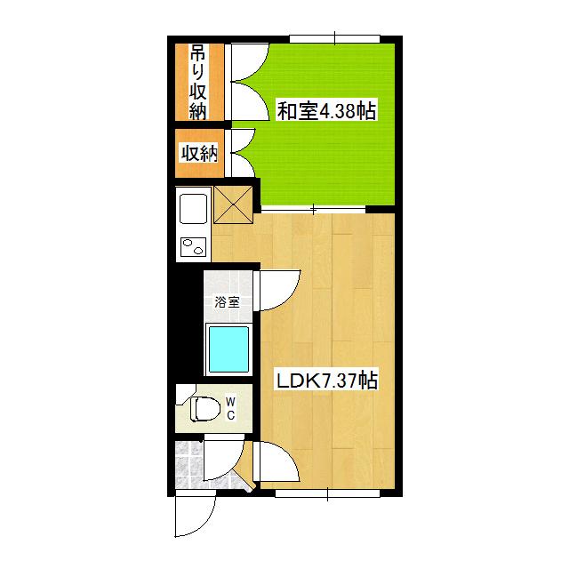 加納マンションB 201号室