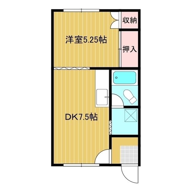 第2わらべマンション 205号室
