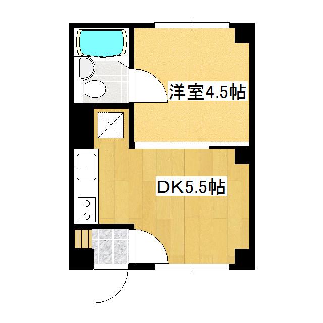 ハピネスハイツ 302号室