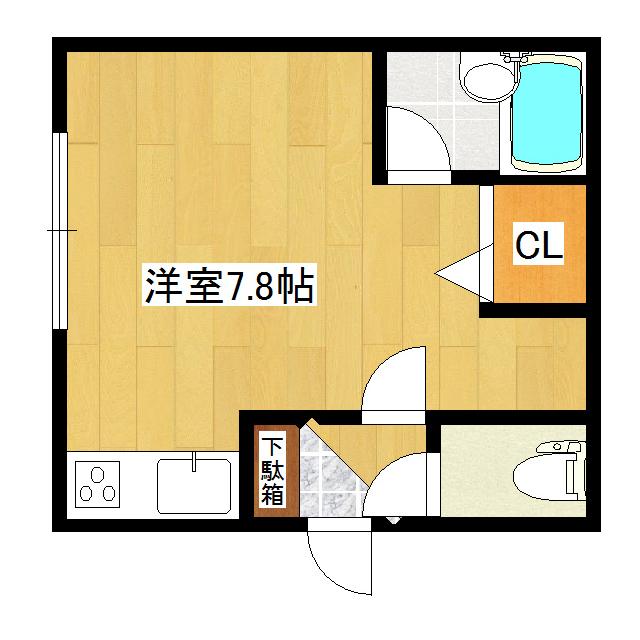 リバティとん田 404号室