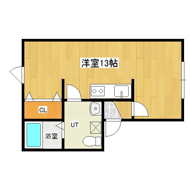 ハイツとみた 2-B号室