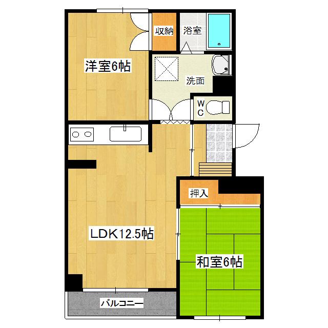 コーポタケナカ 205号室