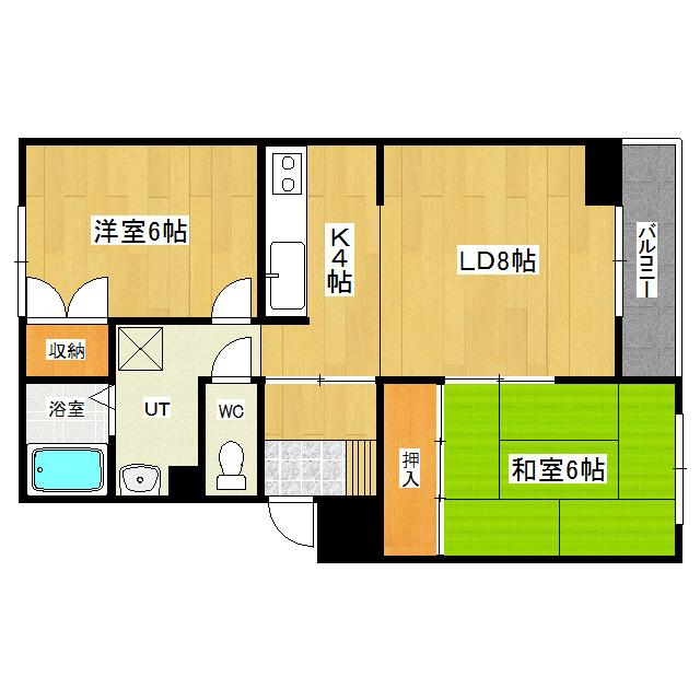 コーポタケナカ 303号室