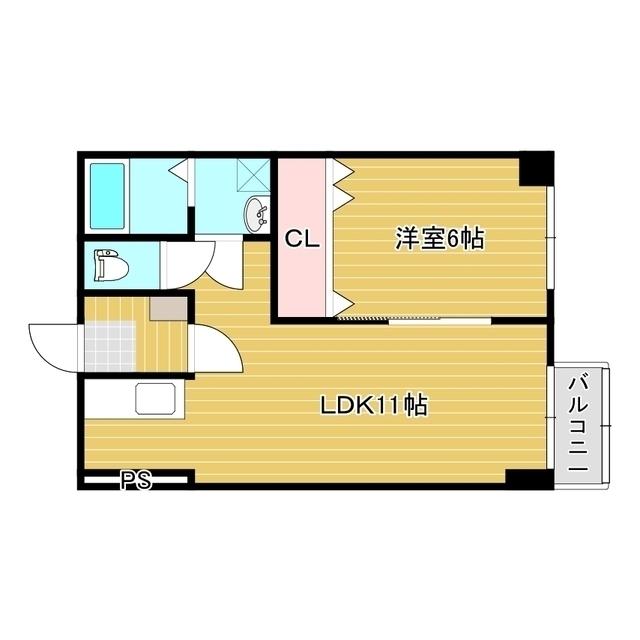 第一コーポラス 203号室