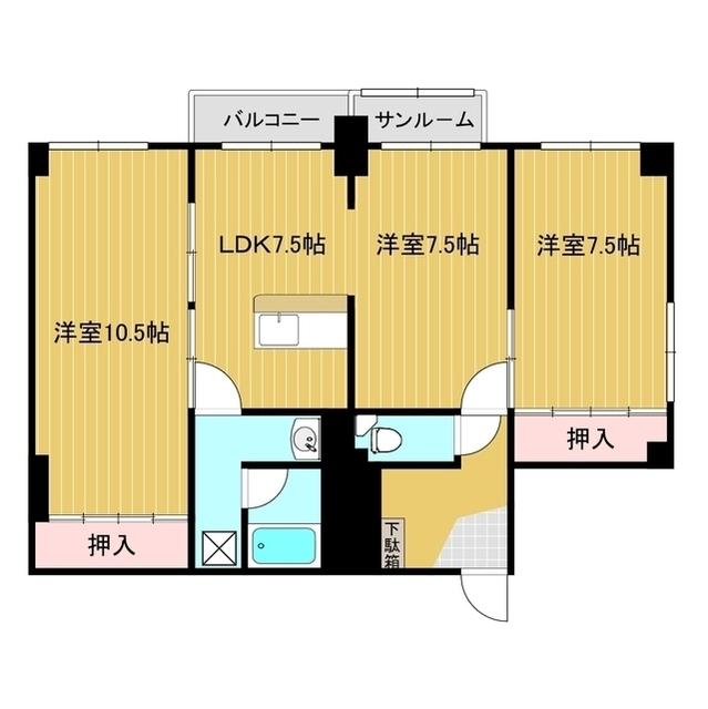 第一コーポラス 106号室