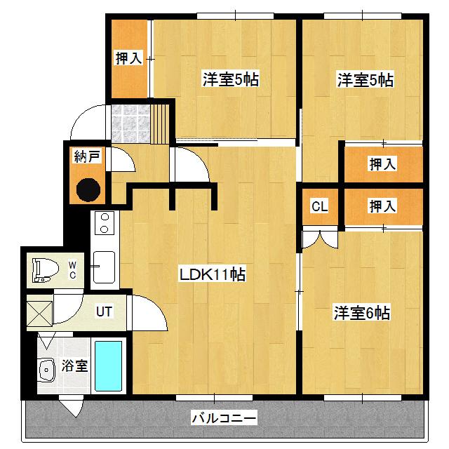 トレジャーマンション 323号室