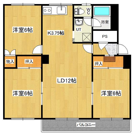 ツチヤハイツ 107号室