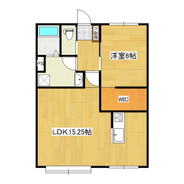 スリーエーマンション3 205号室