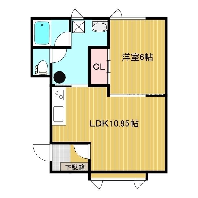 コーポラスマルミII 1-2号室