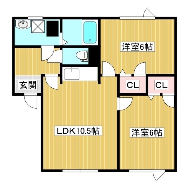 ファミール北 103号室