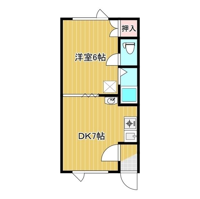 第8日研ハイツ 203号室