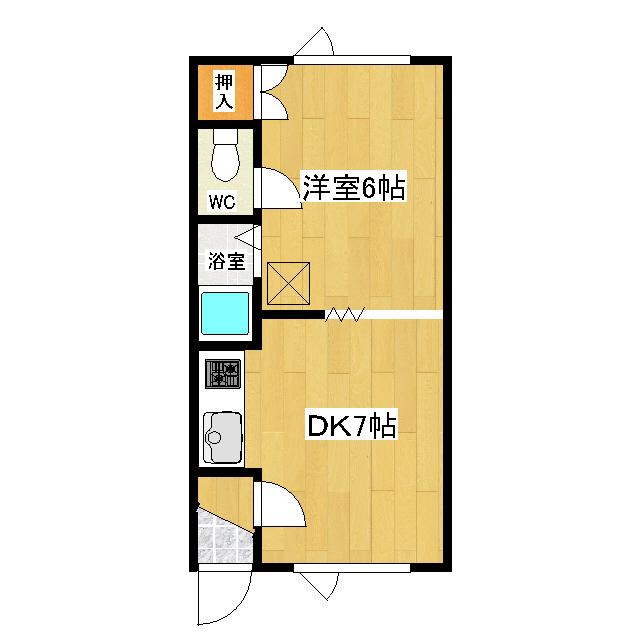 シーハンパーク 203号室