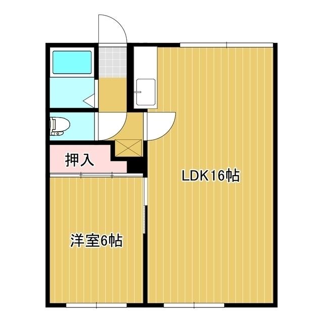 幸陽ハイツ 101号室