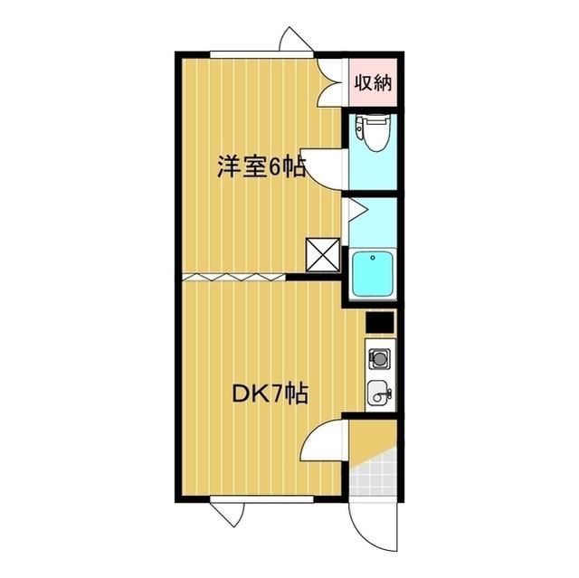エヌズレジデンス 106号室