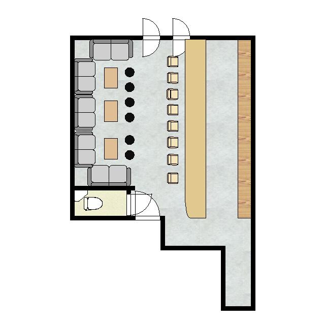 ノースタウンビル 2F-2号室