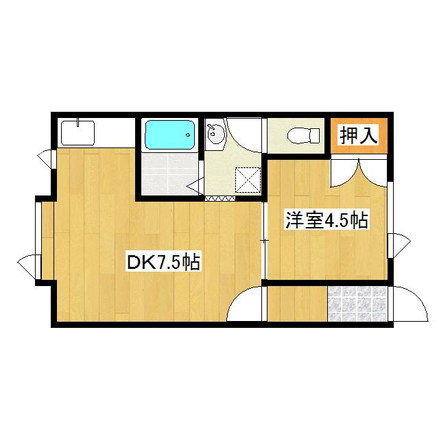 コーポウィステリア 105号室