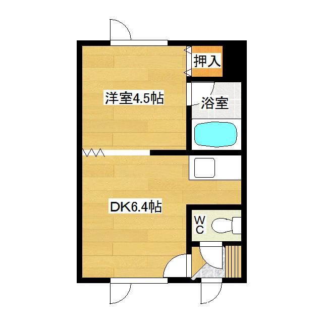 吉野ハイツ1 203号室