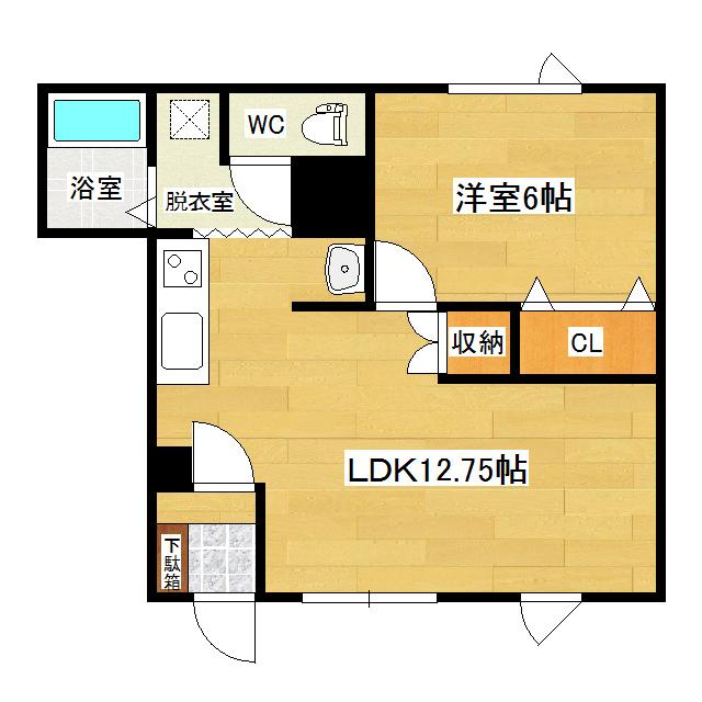 北進マンション 1-2号室