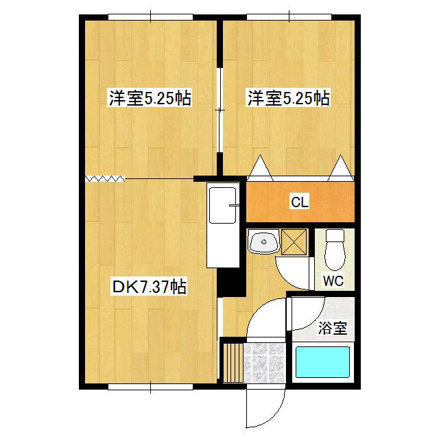 シルバーハイツ 203号室
