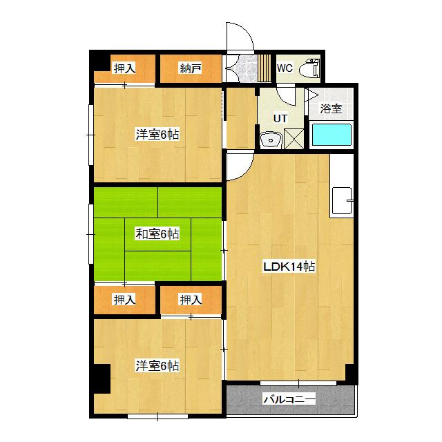 シュトラール4・6 4-E号室
