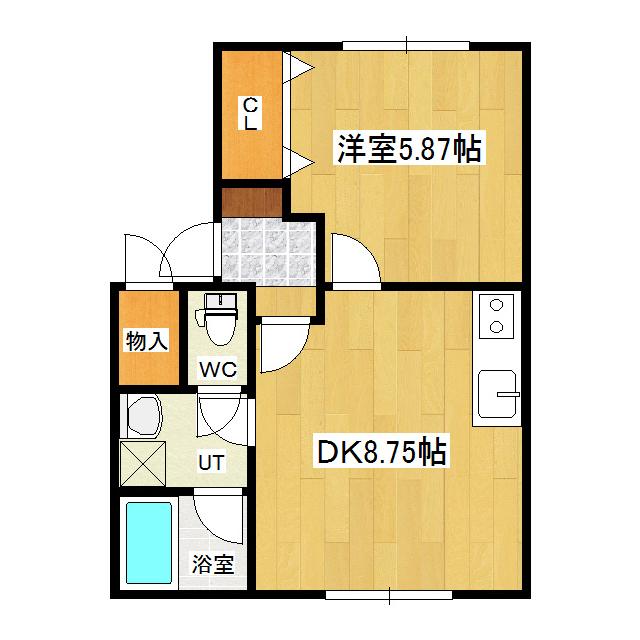 ウエストランドハウス 101号室