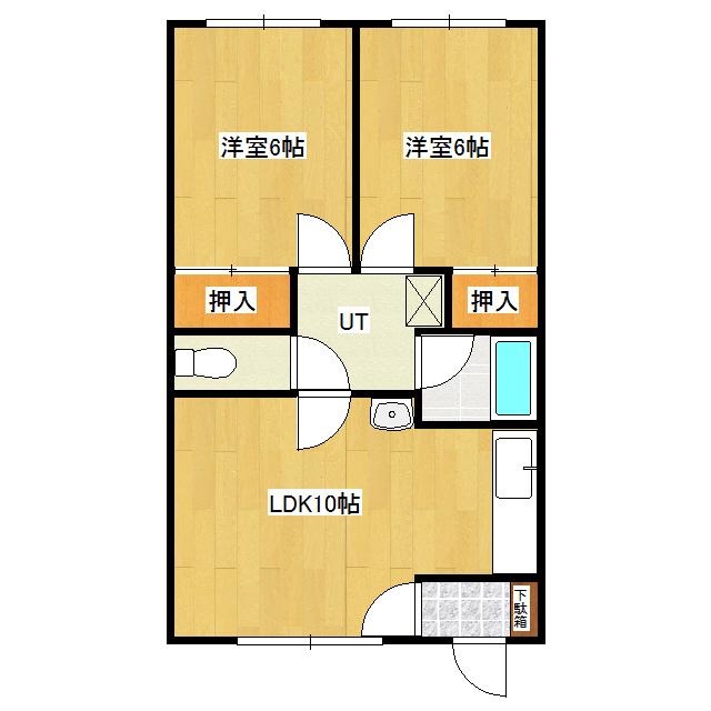 ハイツカミヤマ 2号室