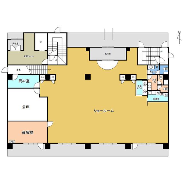 フェイマスKITAMI1番館事務所 1F号室