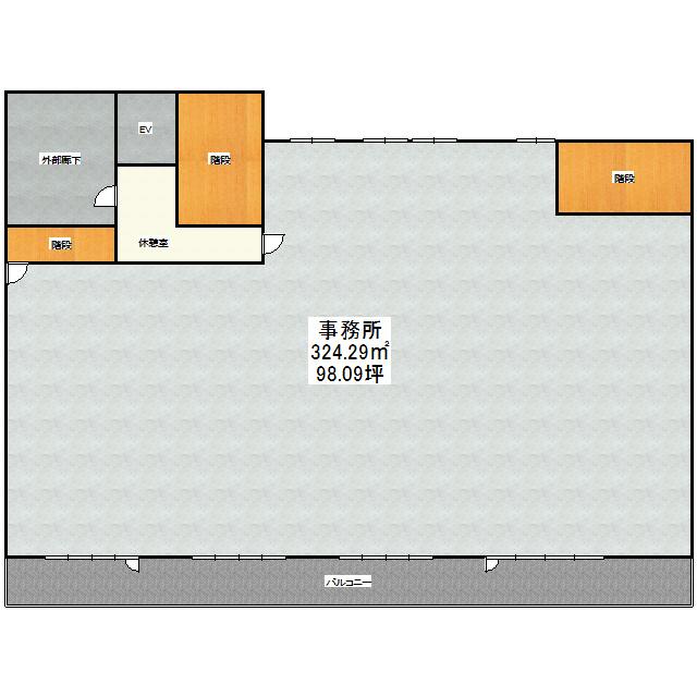 フェイマスKITAMI1番館事務所 2F号室