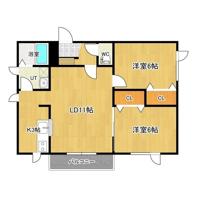 スイングラピュタ A11号室