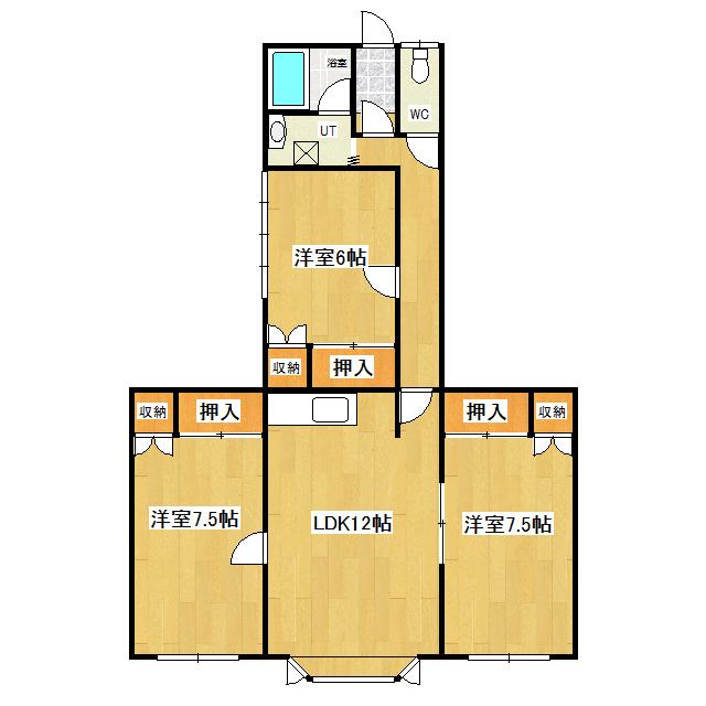 サザンクロス 202号室