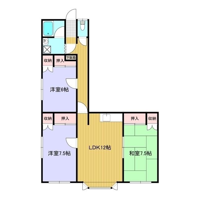 サザンクロス 201号室