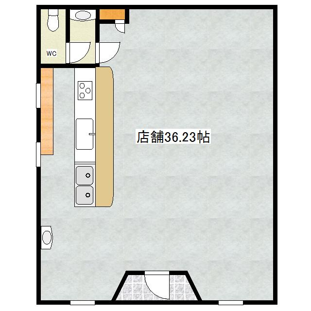 翁マンション 1号室