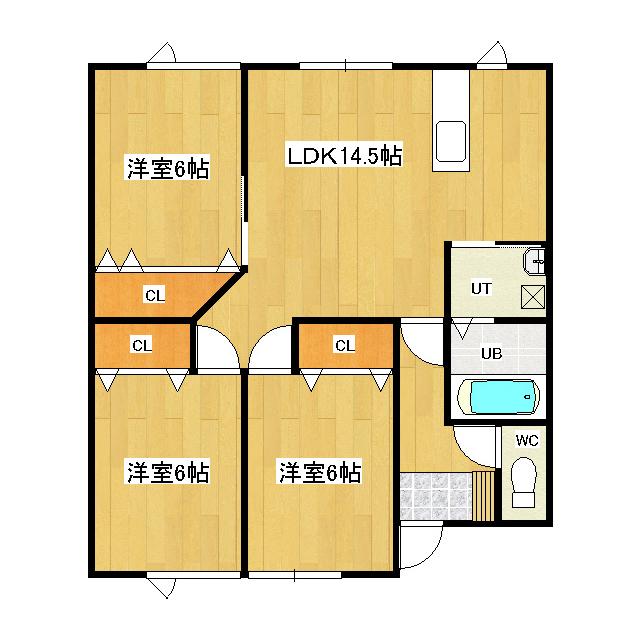 コンフォート無加川 101号室