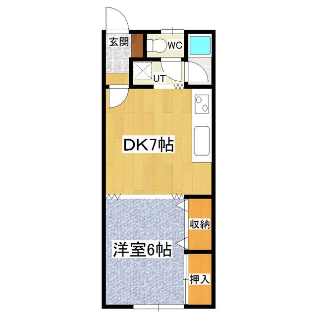 タナカハイムB 101号室