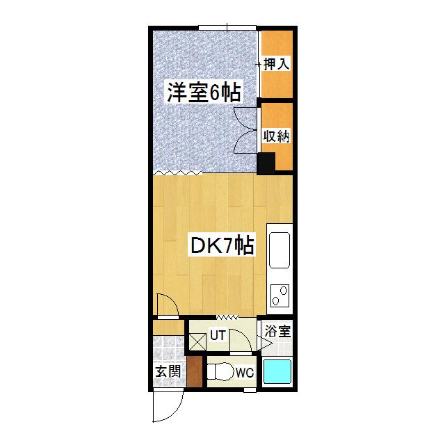 タナカハイムB 206号室
